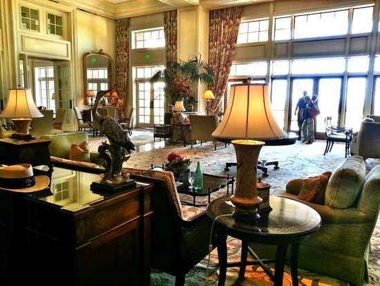 The Sanctuary Hotel at Kiawah Island Golf Resort: Drawing room