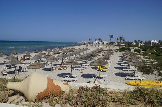 Radisson Blu Ulysse Resort & Thalasso Djerba: grande plage