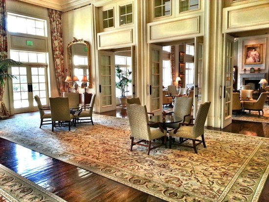 The Sanctuary Hotel at Kiawah Island Golf Resort: relax in style