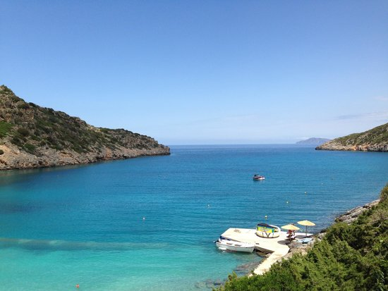 Daios Cove Luxury Resort & Villas: Out to sea