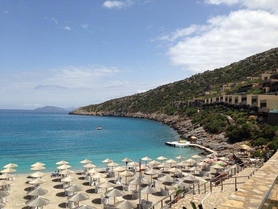Daios Cove Luxury Resort & Villas : The beach