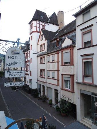 Hotel Ratskeller : Zicht vanuit de kamer