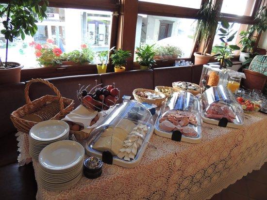 Hotel Ratskeller : Het ontbijt...