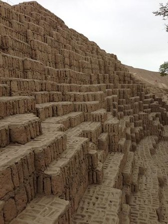Huaca Pucllana: It's not everyday you see a pyramid in the center of town!
