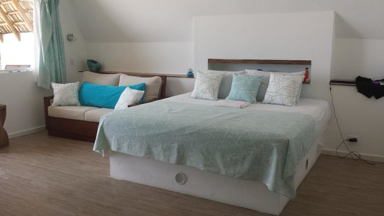Punta Rucia Lodge : Lovely bed