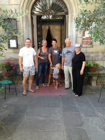 Al Vecchio Convento : Me and the family