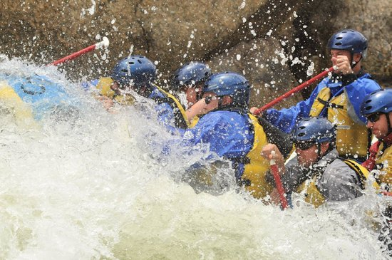 Buffalo Joe's Rafting brought to you by River Runners: White water y'all!