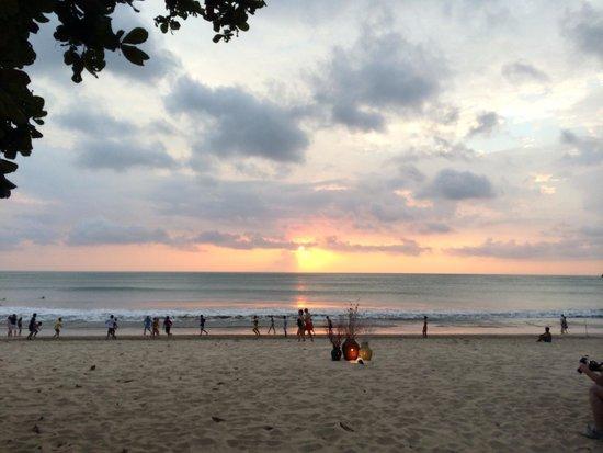 Belmond Jimbaran Puri: Coucher de soleil
