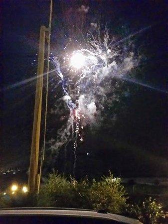 Agriturismo La Collina: Fuochi d'artificio inaspettati