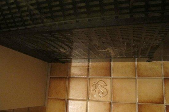 Aparthotel Monte Rosa: Lo más sucio era la campana extractora de humos.