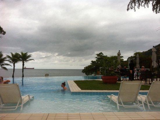 Club Med Rio Das Pedras: Vue imprenable sur les cargos depuis l'ensemble du club