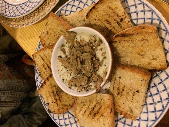 Hostaria De Mendoza: Fonduta con tartufo