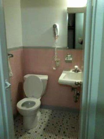 Americana Hotel: Bathroom