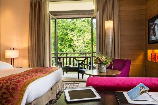 Hotel Ermitage - Evian Resort: Chambre Deluxe Côté Sud