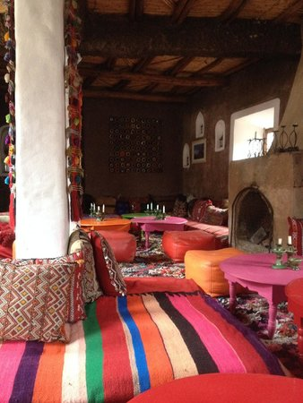 Douar Samra : The dining room