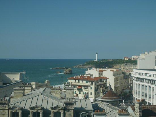 Mercure Le President Biarritz Centre : Vue de la fenêtre d'une chambre au 7 ème étage