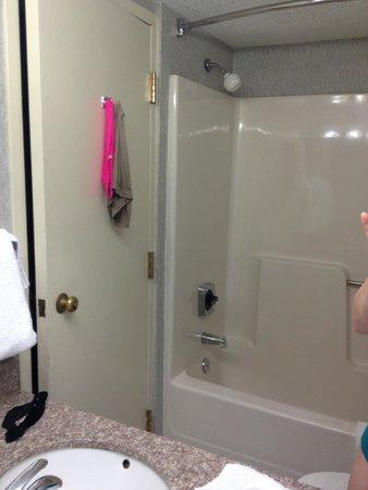 Quality Inn: shower