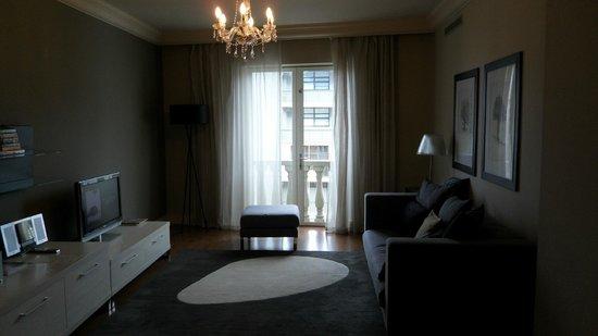 Cape Royale Luxury Hotel : Living area