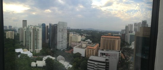 Four Seasons Hotel Singapore: View from one of executive suites