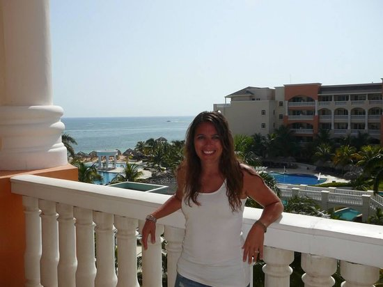 Iberostar Rose Hall Suites : me on our balcony