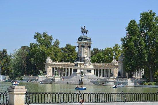 Parque del Retiro: magnifique endroit