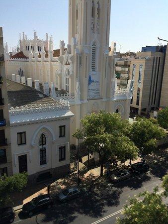 Catalonia Goya : Vista desde la habitación