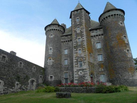 Montpeyroux, França: Chateau vu de l'entrée