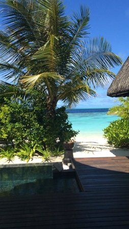 Jumeirah Vittaveli: View from pool villa