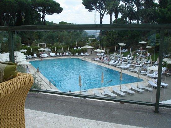 Pool Picture Of Rome Cavalieri Waldorf Astoria Hotels Resorts Rome Tripadvisor