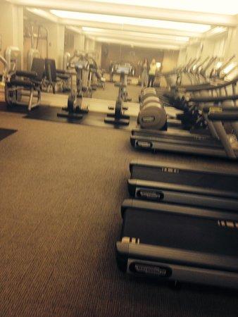 Fairmont Hotel Vancouver: Gym
