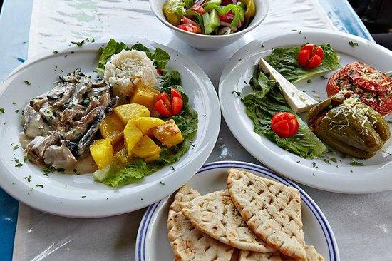 Oasis Restaurant : Das Lamm mit Pilzen war zart und vorzüglich im Geschmack
