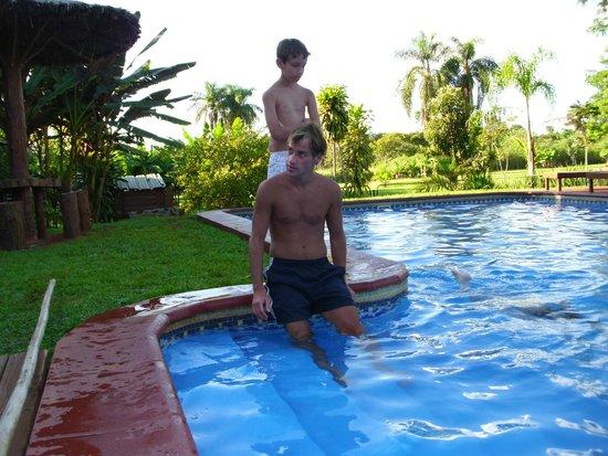 Posada 21 Oranges: Gaston y Matias en Rio Tropic