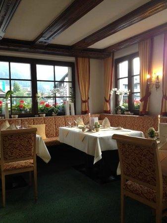 Hotel Tannbergerhof: salle de restaurant