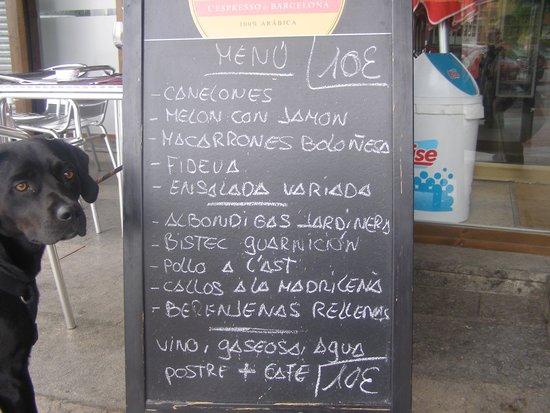Tota Teca : le menu du jour