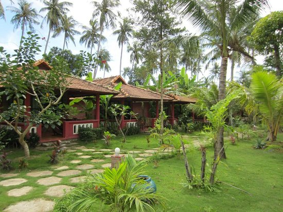 Thanh Kieu Beach Resort: Бунгало с видом на сад