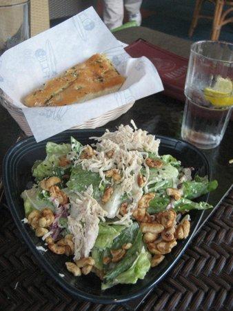 Beaches Restaurant & Bar : Beach House Salad (includes Focaccia Bread)