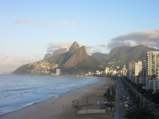 Hotel Fasano Rio de Janeiro: View from rooftop bar