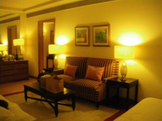 ITC Maurya, New Delhi : View of the room