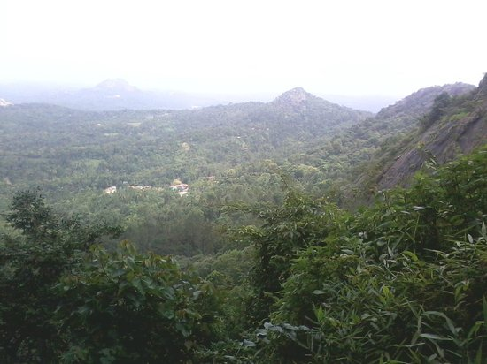 Edakkal Caves : View from top