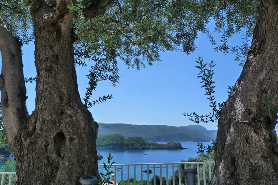 Odysseus Hotel: View from the hotel
