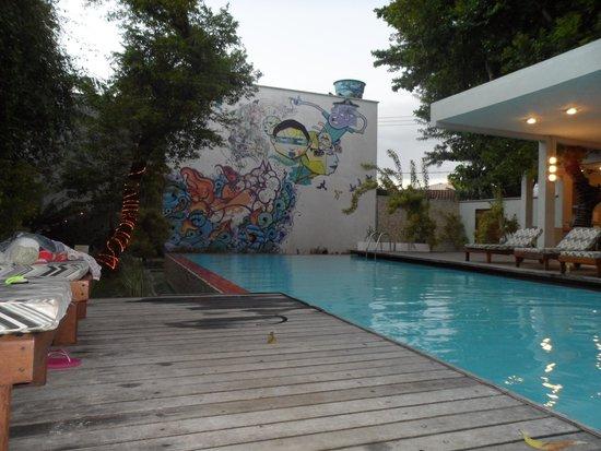 Villa dos Graffitis Pousada: pileta