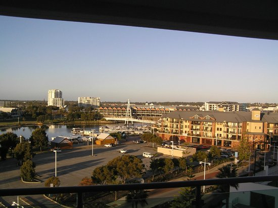 Seashells Mandurah: View from balcony