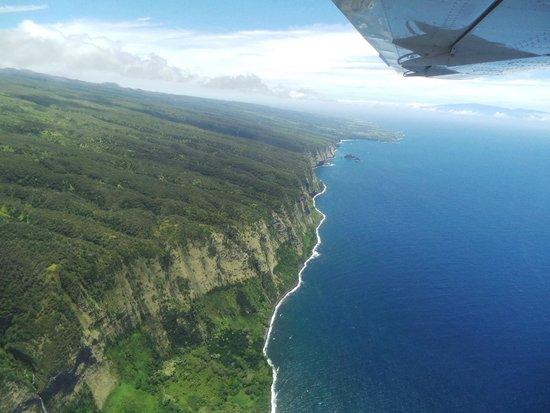 Big Island Air: north tip of big island
