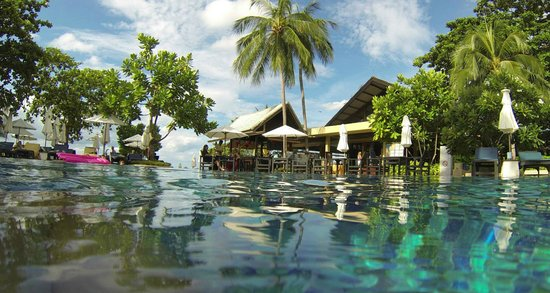 Peace Resort: View from the pool