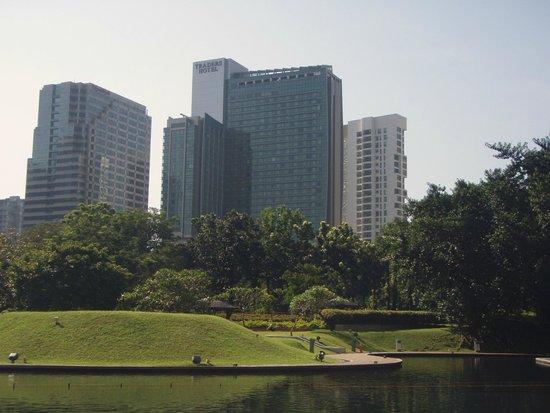 Traders Hotel, Kuala Lumpur : отель