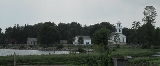 Upper Canada Village: Buildings in the distance