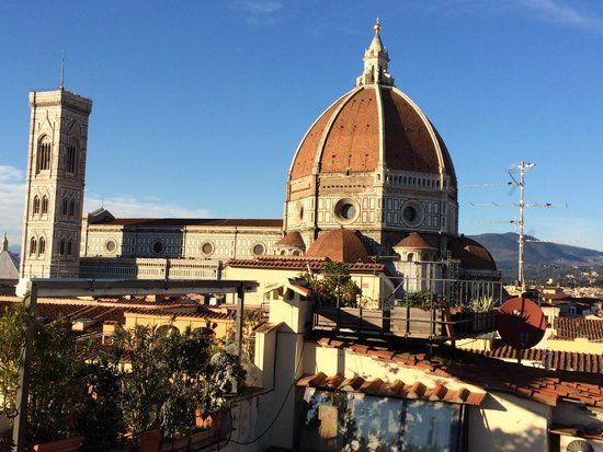 Grand Hotel Cavour: view from rooftop bar