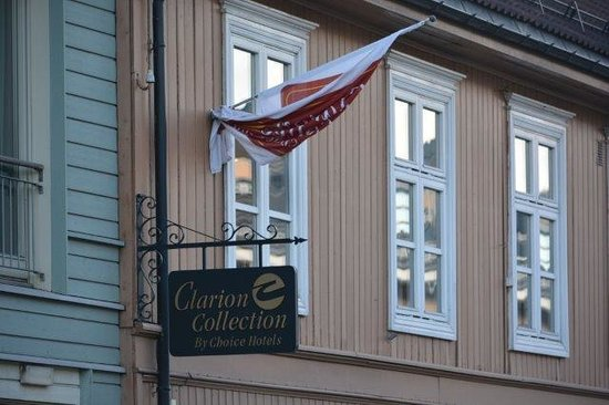 Clarion Collection Hotel Hammer: front entrance