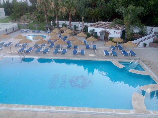 TRH Mijas: piscina
