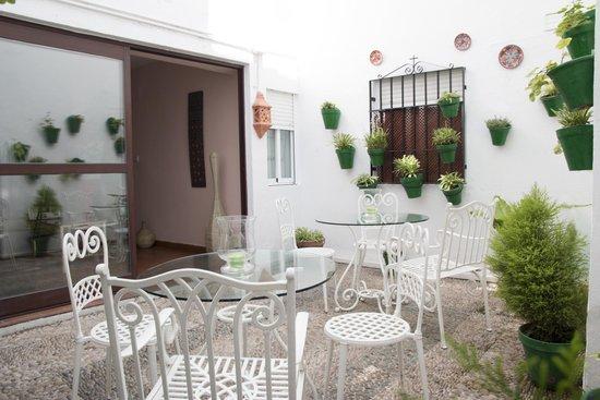 Hospederia Luis de Gongora: patio